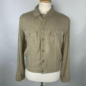 Polo Ralph Lauren Vintage Beige Linen Jacket